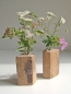 "Mobile Preview: Einzigartige, dekorative Holzvase - Natur-Pur- """"Woody"""""