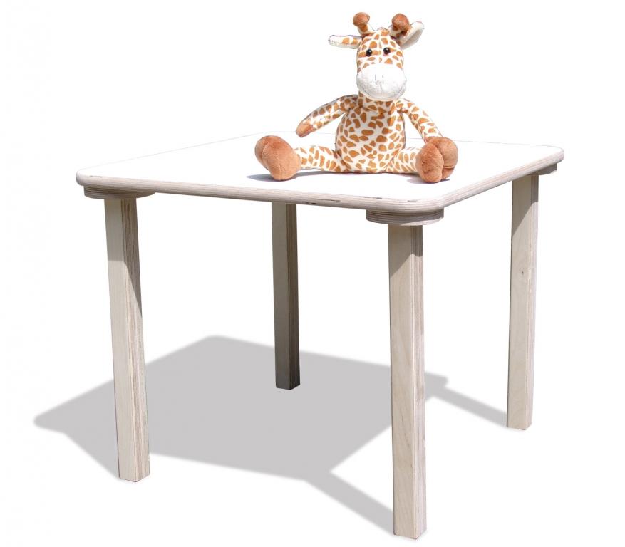 die schreiner christoph siegel kindertisch holz weiss oder naturbelassen sehr stabil. Black Bedroom Furniture Sets. Home Design Ideas